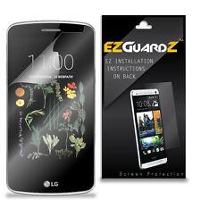 4X EZguardz NEW Screen Protector Skin Shield HD 4X For LG K5 (Ultra Clear)