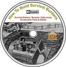 Survival Shelters 101 EZ CD Plans to Build Your Own Low-Cost Shelter to Protect