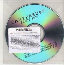 (CU506) Canterbury, Ready Yet? - DJ CD