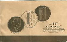 Catalogue 1931 REDRESA Mobilier meuble lit divan armoire Art déco design