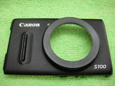 GENUINE CANON S100 FRONT CASE WITH FOCUS RING  REPAIR PARTS