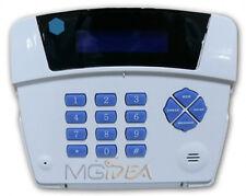 COMBINATORE TELEFONICO GSM DIALER DISPLAY LCD MORSETTIERA X ALLARME ANTIFURTO