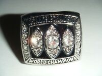 World Champions 1983 LOS ANGELES RAIDERS Football Super Bowl XVIII Replica Ring
