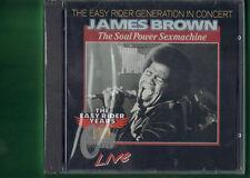 JAMES BROWN - THE EASY RIDER GENERATION IN CONCERT CD NUOVO SIGILLATO
