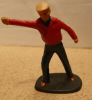Commentator Figure for Scalextric Trackside Scenery.1:32 Race Reporter