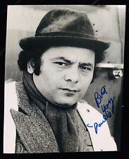 Burt Giovane Firmato Sylvester Stallone' Rocky Balboa' Paulie 8x10 Foto - a