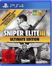 Sniper Elite III Ultimate Edition - Playstation 4 (NEU & OVP!)