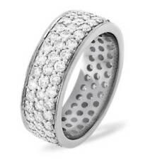 Platinum Eternity Fine Diamond Rings