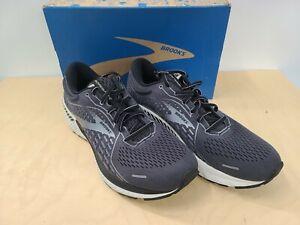 Brooks Men's Ghost 13 Running Shoe  Primer Grey Pearl Black 10 D US New