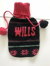 Jack Wills Hot Water Bottle Cover Knitted