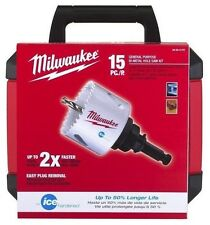 $110 Value Milwaukee Metal Hole Saw Kit (15-Piece) Free Shipping