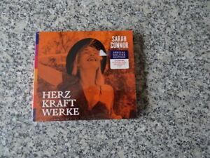 ** Sarah Connor: Herz Kraft Werke (Special Deluxe Edition) – 2 CD – NEU & OVP **