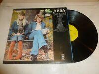 ABBA - Greatest Hits - 1976 UK Yellow Epic label Vinyl LP