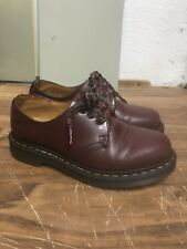 Dr. Martens Burgundy Red Lace up Fashion  Women's Size 5 In Amazing Condition