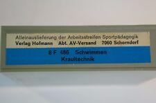 Super 8 Film S8 mm Schwimmen  FWU Lehrer Sportunterricht Sport 70er 486