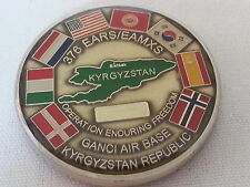 19th Air Refueling Wing / Operation Enduring Freedom / Ganci Air Base Coin / NEW