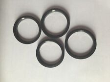 4pcs Polycarbon Plastics Hub Rings 66.56mm to 57.1mm