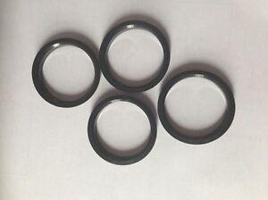 4pcs Polycarbon Plastics Hub Rings 66.56mm to 57.1mm