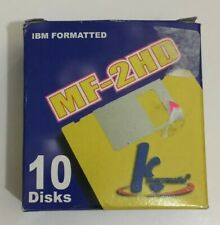 IBM formatted MF-2HD 1.44 MB diskettes. Open Box New. (C74)