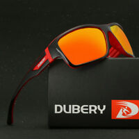 DUBERY Men's Sports Polarized Sunglasses Outdoor Riding fishing Square Eyewear