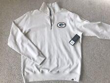 NWT! Green Bay Packers NFL 47 Brand 1/4 Zip Sweatshirt Sweater Size Mens XXL
