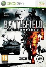 Battlefield: Bad Company 2 (Microsoft Xbox 360) 2010 komplett Game Case & Handbuch