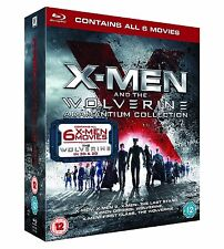 "X MEN AND THE WOLVERINE ADAMANTIUM COLLECTION 7 DISCS BOX SET BLU-RAY RB ""NEW"""