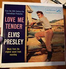 """ELVIS PRESLEY ~ """"LOVE ME TENDER"""" ~ EPA-4006 ~ ORANGE LABEL ~ NM ~ MEGA RARE"""