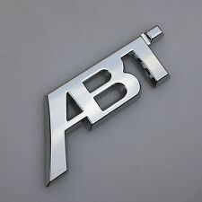 Emblem ABT Tefit Aluminum Car Badge Auto Metal 3D Logo Sticker Für Volkswagen VW