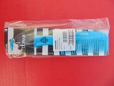 CONAIR SUPER COMB 1 2 Packs (((NEW))) Turquoise Blue Color Hair