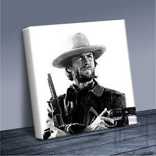 OUTLAW JOSEY WALES CLINT EASTWOOD ICONIC CANVAS ART PRINT PICTURE Art Williams#2