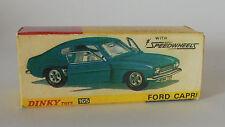 Repro Box Dinky Nr.165 Ford Capri Speedwheels