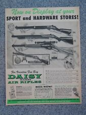 VINTAGE 1957 DAISY RED RYDER EAGLE PUMP AIR RIFLE ADVERTISEMENT