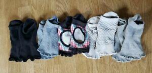 5 Pairs Toesox Half Toe Grip Socks For Yogo Exercise Gym Dance Pilates Sz Medium