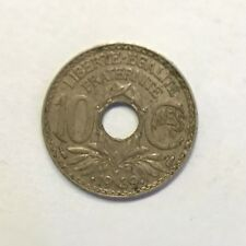 Pièce Ancienne - 10 Centimes Francs Lindauer 1939 - Ancient French 10 cents coin