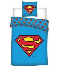 Superman Bettwäsche NEU u. OVP, 200 cm x 135 cm, 80 cm x 80 cm,100% Baumwolle