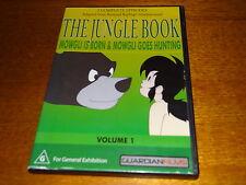 THE JUNGLE BOOK MOWGLI IS BORN + MOWGLI GOES HUNTING: 1 DVD *BARGAIN*
