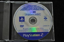 Singstar Rocks Promo Playstation 2 PS2