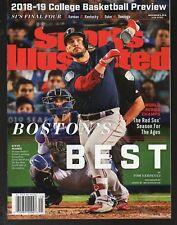 Sports Illustrated 2018 World Series Steve Pearce Boston Red Sox  Newsstand