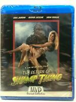 NEW THE RETURN OF SWAMP THING BLU RAY 2 DISC SPECIAL EDITION MVD REWIND