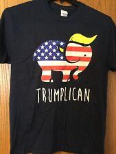 """Donald Trump - """"Trumplican"""".  Blue Shirt.  M."""