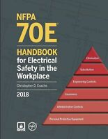 2018 NFPA 70E Handbook for Electrical Safety in the Workplace Hardcover 2017