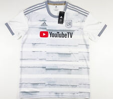 Adidas Official Mls Los Angeles Fc YouTube Tv Soccer Jersey Ge5944 Large $85
