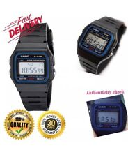 Genuine Casio F-91w-1yer Stopwatch Alarm Classic Black Watch