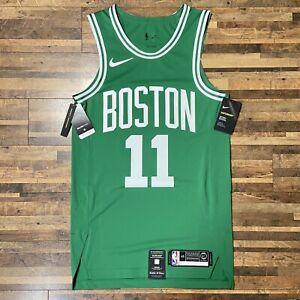 Kyrie Irving Boston Celtics Nike Authentic Vaporknit Jersey Green New DEFECT