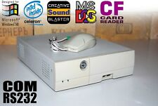Vintage Gaming Industrial Computer PC for DOS Cel 900Mhz, ISA, 4 COM RS232 port