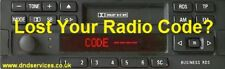 Philips Radio Code Decode Unlock Service by Serial Number
