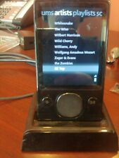 Microsoft Zune 120Gb Player Bundle w Charger & Charging Dock and Component Outpu