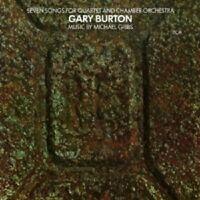 GARY BURTON - SEVEN SONGS FOR QUARTET AND CHAMBER ORCHESTRA  CD NEU