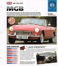 vintage MG BROCHURES / Road Tests IMP Collection: MGB/RV8,GT,B,RV-8